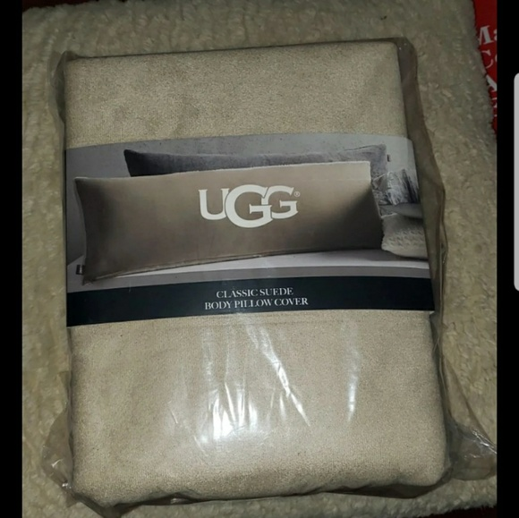 UGG Other - Ugg classic suede body pillow cover NEW